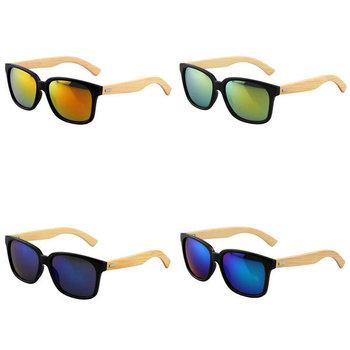 Мужчины женщины бамбуковые солнцезащитные очки ретро привод очки деревянные очки очки