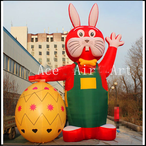 free fans giant colorful inflatable Easter eggs for party festival decoration(China (Mainland))