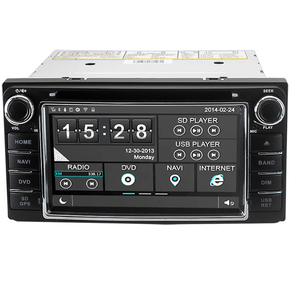 Witson Car DVD GPS Headunit Sat Nav for Toyota Land Cruiser 70 / 100 with Radio Stereo Player Tape Recorder Support 3G OBD DVR<br><br>Aliexpress