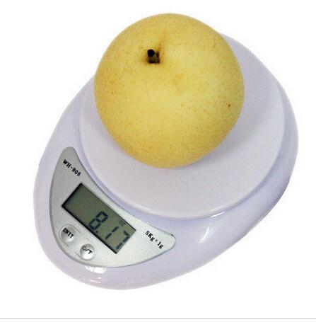 1G-5000G New High Presicion Strain Gauge Sensor Digital Electronic Kitchen Food Diet Weight Blance Scale(China (Mainland))