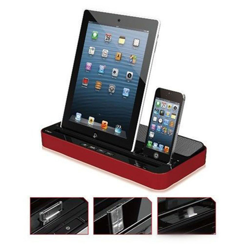ipad docking station luidsprekers promotie winkel voor promoties ipad docking station. Black Bedroom Furniture Sets. Home Design Ideas