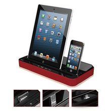 Docking Station Charger With Speaker For iPhone 6 Plus 6 5 5S 5C iPad Air2 iPad 2 3 4 Tablet PC Mini For Samsung Galaxy S6