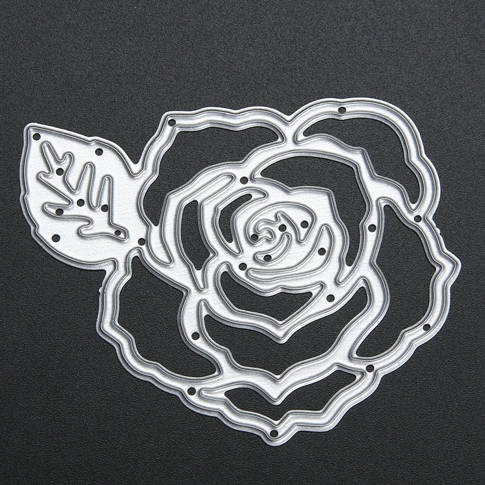 Flowers Metal Cutting Dies Stencils for DIY Scrapbooking Photo Album Decorative Embossing Paper Cards Scrapbooking Dies Cuting