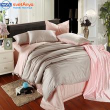 Luxury Silk bedding set King Queen Double size Tencel super soft bedclothes Comforter/Duvet Cover sheets pillowcase 4pc Linens(China (Mainland))