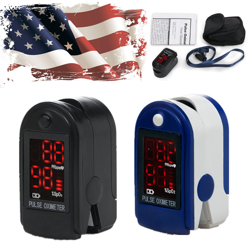 ***US Shipping HOT! CONTEC FDA/CE Fingertip Finger Pulse Oximeter SpO2 Oxygen Monitor(2 colours) LK09(China (Mainland))