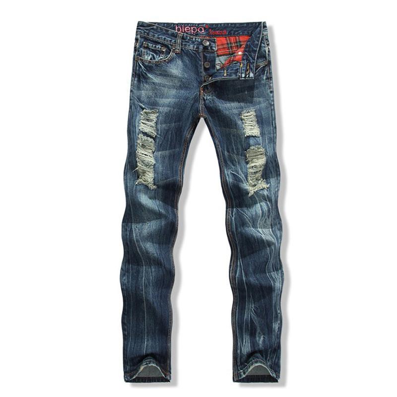 Men Ripped Jeans Brand New 2015 Men Designer Jeans Mens Destroyed Jeans Men Ripped Jeans ...
