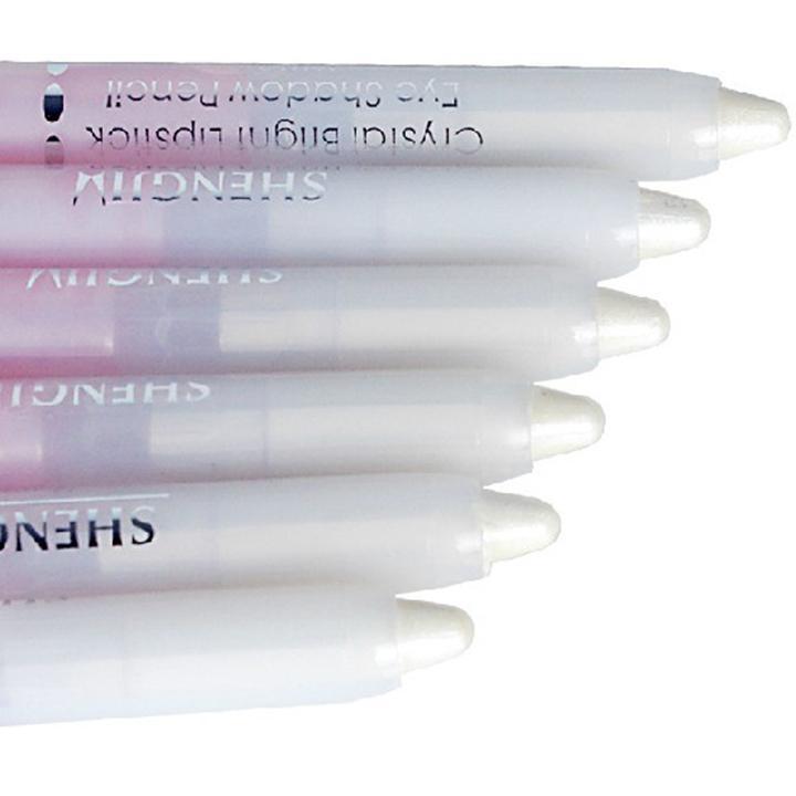 1PCS Pearl White Eyeshadow Pencil Eyeliner Cosmetic Makeup glitter sexy Eye liner