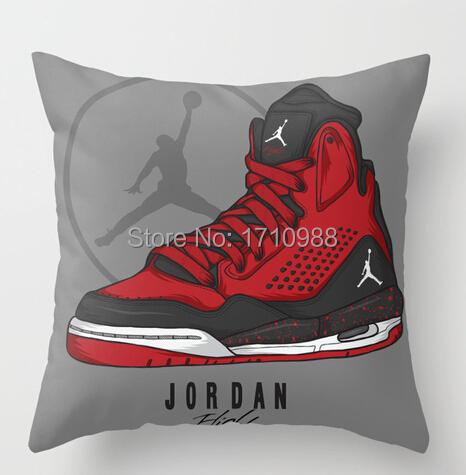 Jordan Flight SC-3 Custom Pillow case (two sides) for 12x12 14x14 16x16 18x18 20x20 24x24 inch Free shipping(China (Mainland))