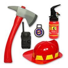 Дети пожарный игрушки моделирование пожарная служба игрушка комплект пожарный шлем огнетушитель игрушка для мальчиков