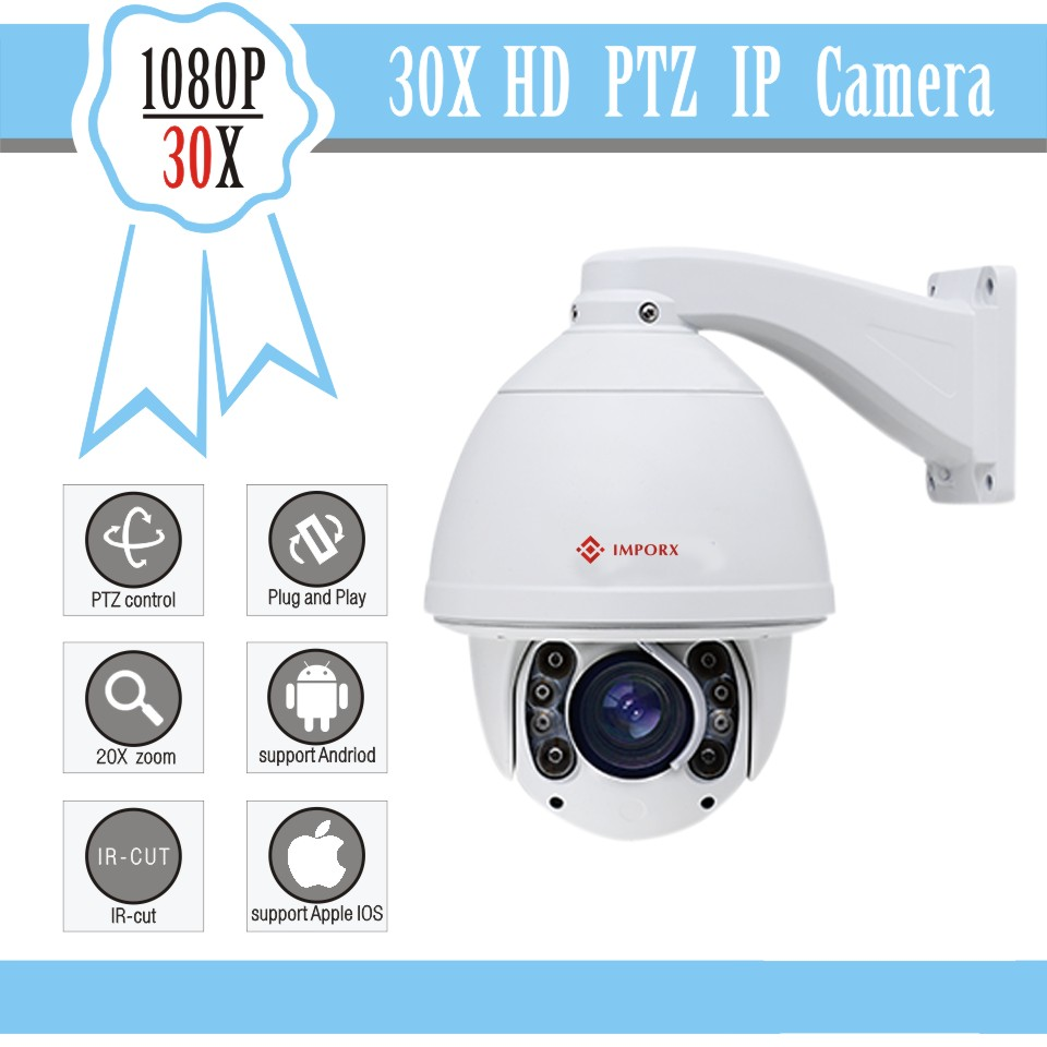 Security cctv auto tracking ptz ip camera Powerfull 30x 1080p high speed dome camera ip adopt with h.264 Compression(China (Mainland))