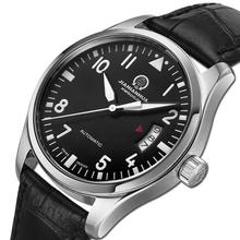 Carnaval hombres del reloj de moda de hombres reloj mecánico automático reloj luminoso Sopphire lujo de oro recorte envío gratis