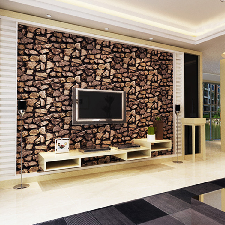 3d stone wallpaper luxury vintage brick effect wallpaper for 3d wallpaper of house