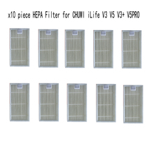 Buy 10 pcs HEPA Filter for vacuum cleaner CHUWI ilife v5s ilife v5 pro v1 V3 V3+ v5pro ilife x5 robot vacuum cleaner parts for $5.61 in AliExpress store