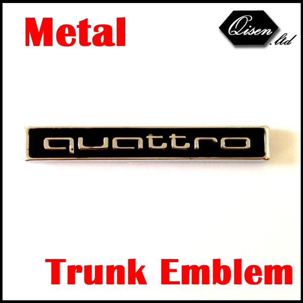 NEWEST BLACK 50 X QUATTRO SILVER Metal Car Rear Back Trunk Emblem Logo stickers for A1 A3 A4 A5 A6 A7 A8 Q3 Q5 Q7 TT #SO2821<br><br>Aliexpress