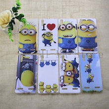 Cute Cartoon Minions Despicable Me mobile phone case for Lenovo K3 A6000 TPU Soft phone shell High Quality