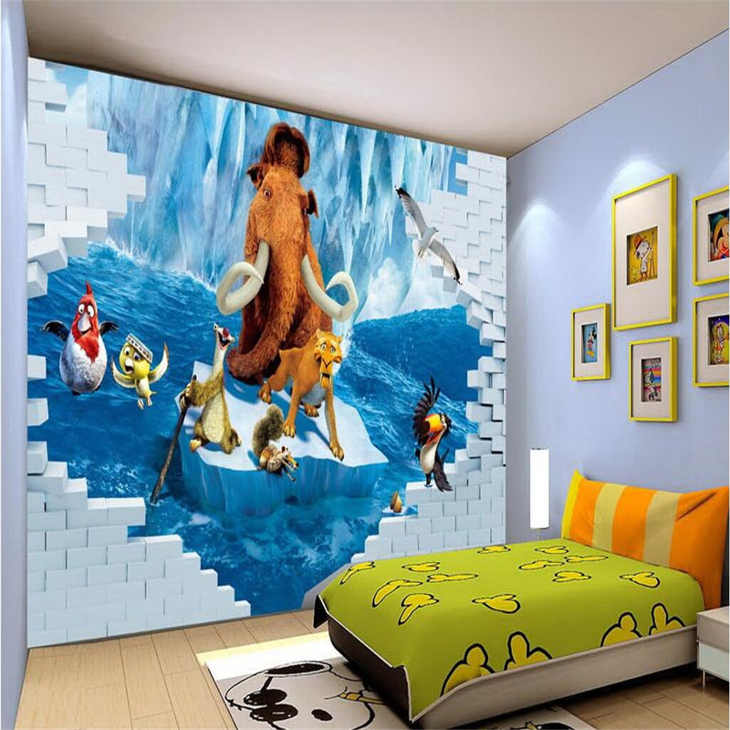 Compare prices on 3d nature movies online shopping buy for Chinese movie mural