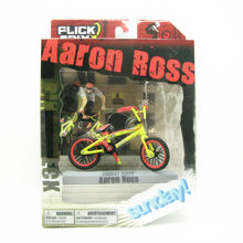"2016 Flick Trix Bmx Finger Bike ""Aaron Ross"" Cycle Star Vehicle Alloy model bicycle display set Mini toy for boy(China (Mainland))"