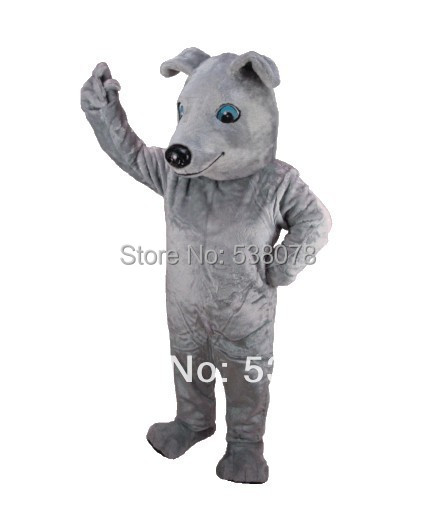 Best Price Greyhound Mascot Adult Size Cartoon Character Mascotte Outfit Suit Fancy Dress Carnival Party Cosply Costumes SW746(China (Mainland))