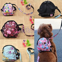 Pet Dog Bag Backpack Outdoor Travel Carrier For Dog Puppy Cats With Leash(China (Mainland))