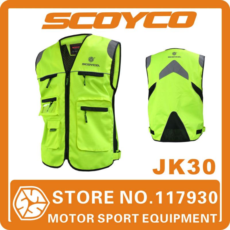 Automobiles & Motorcycles > Roadway Safety > Reflective Safety Clothing Scoyco chaleco reflectante safety vest reflective vest(China (Mainland))