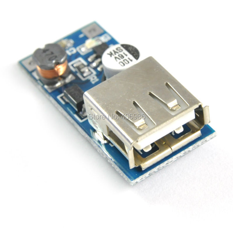 DC-DC Boost Module Power Supply Module 0.9V ~ 5V to 5V 600MA USB Mobile Power Boost Circuit Board(China (Mainland))