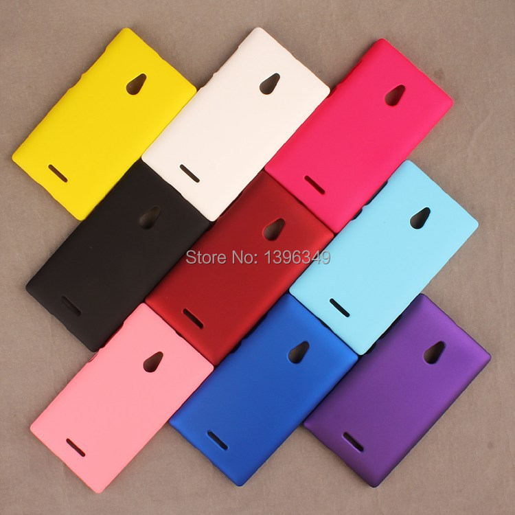 New Colorful Rubber Hard Back Case For Nokia XL Matte Hard Plastic Protective Colorful Frosted Anti-slip Plastic Back Cover(China (Mainland))