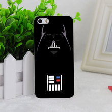 A1807 Darth Vader Star Wars Minimalist Transparent Hard Thin Case Cover Apple iPhone 4 4S 5 5S SE 5C 6 6S 6Plus 6s Plus - DREAMBIRD FACTORY store