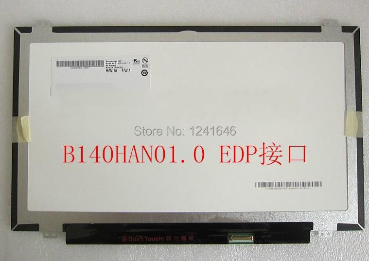 Здесь можно купить  14 inch full HD 1920*1080 B140HAN01.2 B140HAN01.0 B140HAN01.1 LP140WF1 notebook lcd screen  Компьютер & сеть