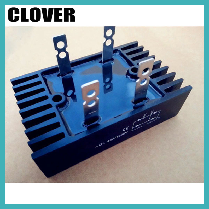QL40A single phase diode bridge rectifier for generator 32*60 1200v 40a rectifier