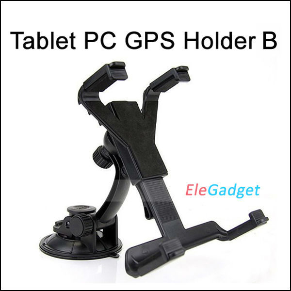 Car holder mounting bracket Holder car station for iPad 1 / 2 / 3 / Mini, Tablet PC Universal Fit