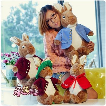 free shipping new 2014 spring summer/Peter rabbit,40cm high/ a doll plush toys doll /lovers gifts birthday gift