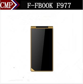 Original F-FOOK F977 Flip Mobile Phone Dual Sim Card Camera MP3 Russian Keyboard Cheap Price Phone(China (Mainland))