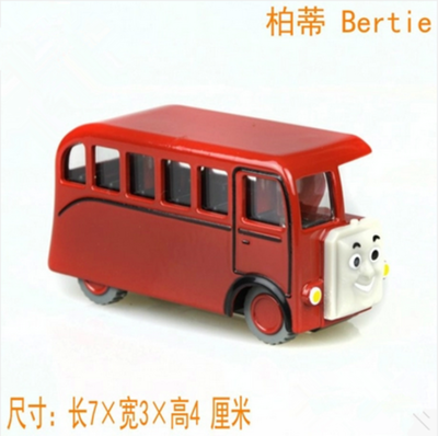 Thomas Railway engine classic toys alloy magnetic small toy car model bertie bus wind up toys kids toys vintage toys(China (Mainland))