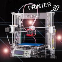 100 Brand new Full acrylic Upgraded Prusa i3 DIY 3d Printer kit P802 High Precision Reprap