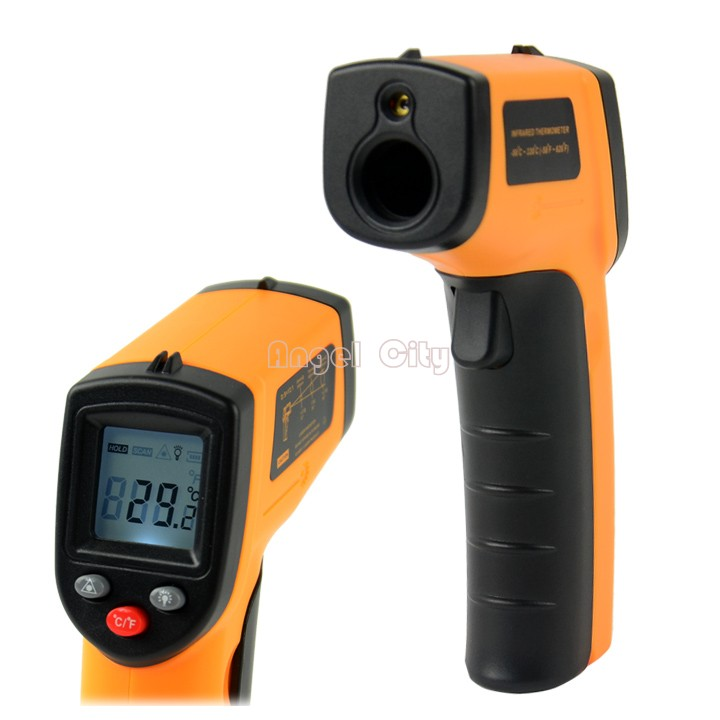 Big Sale!!! Non-Contact LCD IR Laser Infrared Digital Temperature Thermometer Gun Point GM320 -50~330 Degree 41(China (Mainland))