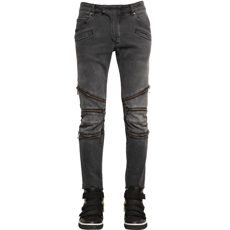 balmai jeans men 2015 new winter Europe and America to do the old punk retro locomotive zipper decoration men jeans slim fitОдежда и ак�е��уары<br><br><br>Aliexpress