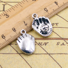 Buy 10pcs 3colors Charms Baseball gloves 20*14mm Tibetan Silver Plated Pendants Antique Jewelry Making DIY Handmade Craft for $1.95 in AliExpress store
