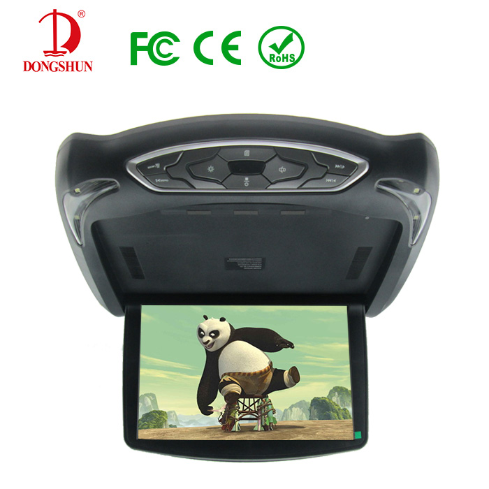 """13"""" Overhead Roof Mount Monitor Car DVD Player with remote control / optional color(China (Mainland))"""