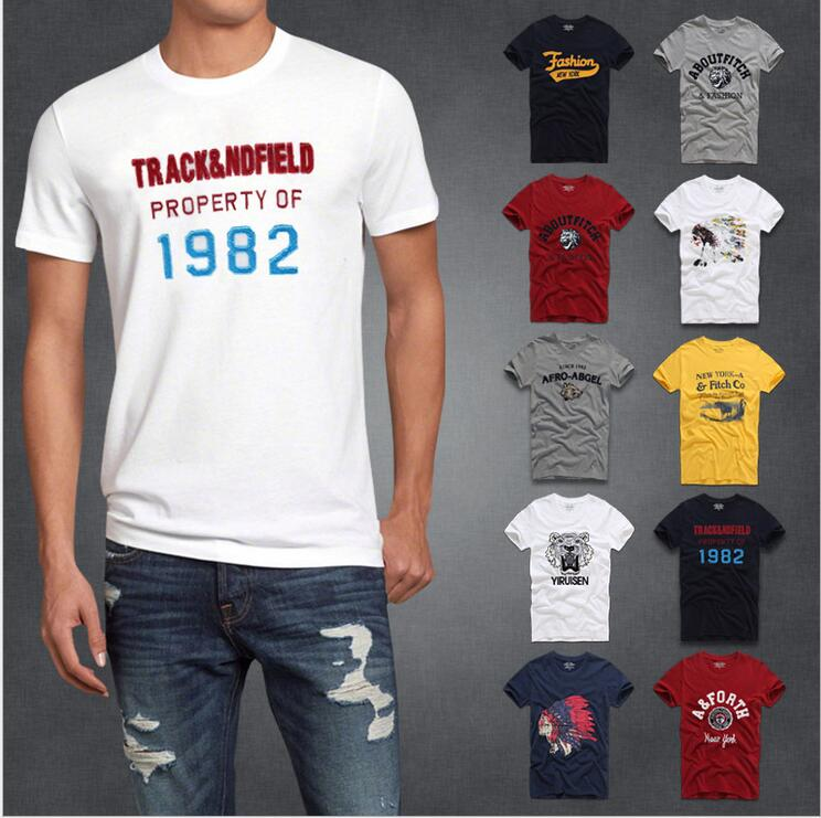 2016 summer brand men's short-sleeved 100% cotton T-shirt men bottoming shirt solid color Casual O-Neck Male Tops & Tees(China (Mainland))