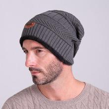 Buy Thick Gorros Beanies Knit Men's Hat Caps Skullies Bonnet Winter Hats Women Beanie Fur Warm Baggy Wool Knitted Hat W3 for $3.86 in AliExpress store