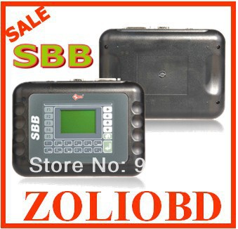 2016 DHL Free shipping Silca SBB V33.02 Latest OBD2 Key Programmer New SBB Key Programmer V33.2 Version(China (Mainland))