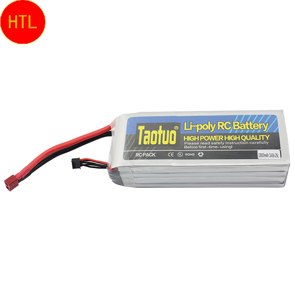Taotuo Lithium Lipo Battery 14.8V 10000mah 25C Max 40c 4S T For DJI S800 RC Quadcopter Helicopter Airplane Drone Bateria Lipo(China (Mainland))
