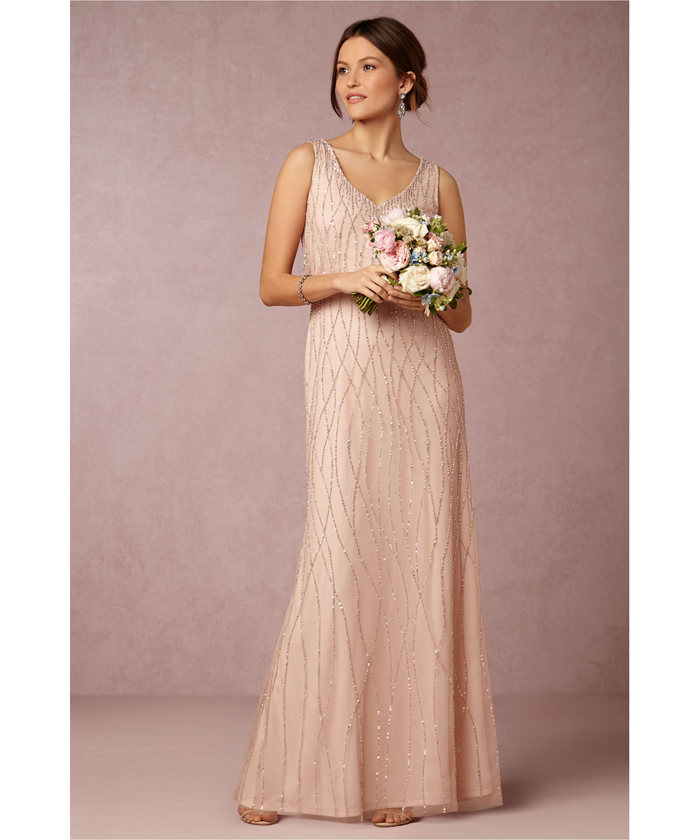 Popular Blush Bridesmaid Dresses Long Buy Cheap Blush