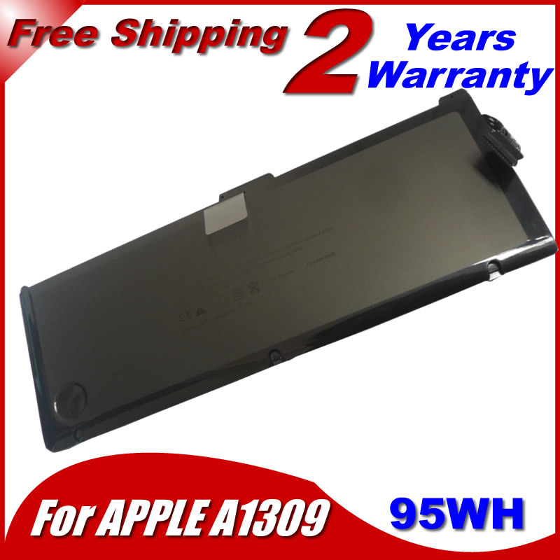 "7.4V 95WH A1309 Laptop Battery For apple MacBook Pro 17"" MC226LL/A MC226J/A MC725J/A(China (Mainland))"