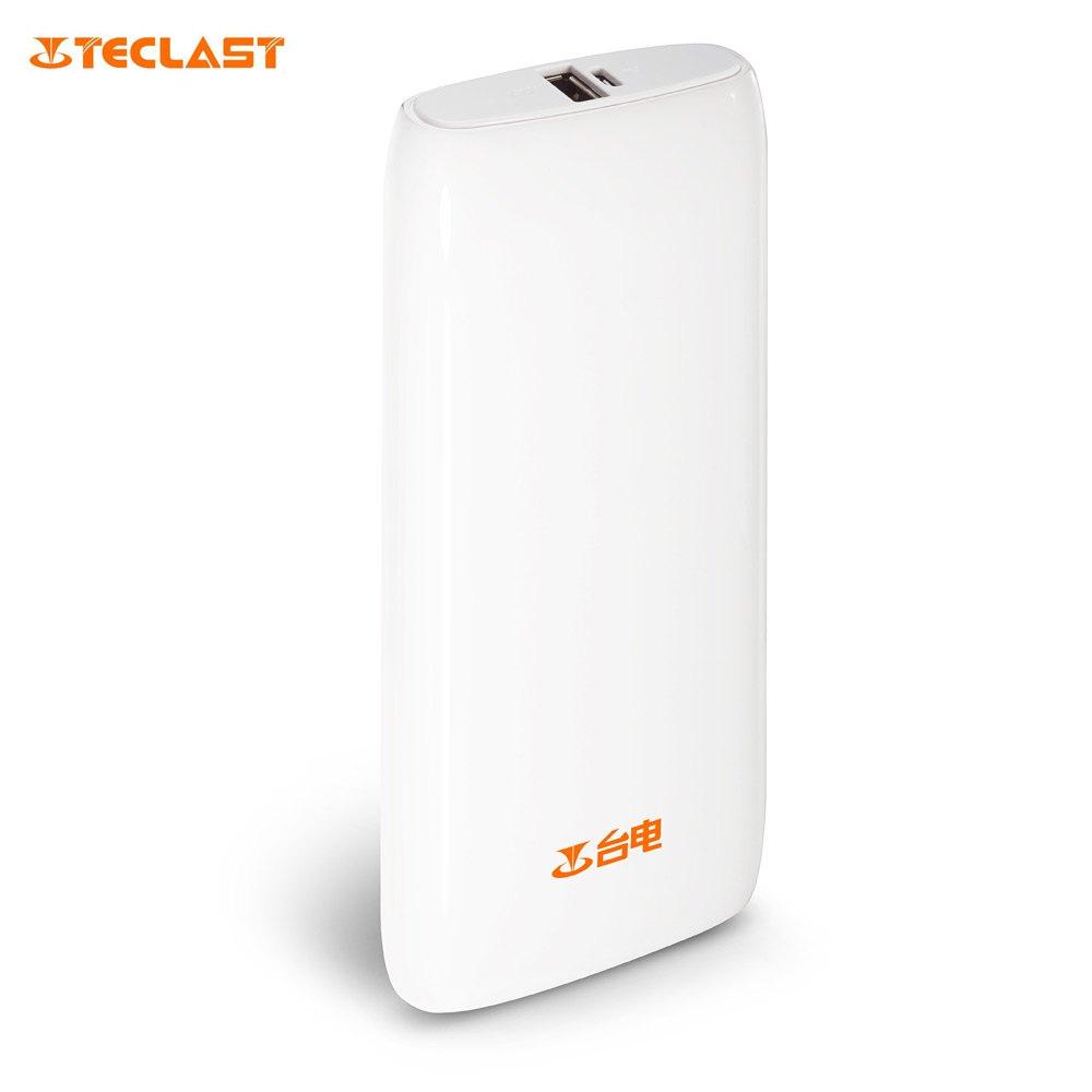 Teclast 10000mAh Portable External Mobile Power Bank Backup Battery Charger with Somatosensory Indicator for Mobile Phone(China (Mainland))