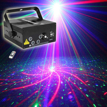 Buy RGRB Laser Projector Stage Lighting Effect Blue LED 5 Lens 80 Patterns DJ Disco Bar Show Home Party Professional Xmas Light for $88.30 in AliExpress store