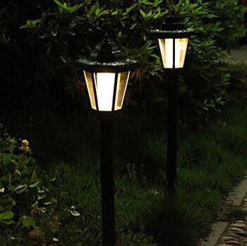LED Luminaria Solar Garden Light For Outdoor lamp,Solar Power LED Lawn Lights Landscape Pathway Lighting Luz<br><br>Aliexpress