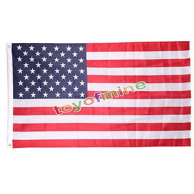 Jumbo 3'x5' FT Polyester American Flag USA US Be Proud&Show off Your Patriotism(China (Mainland))