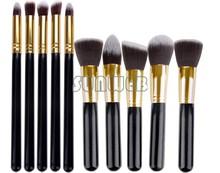 Lowest Price! 10PCS/SET Cosmetics Facial Makeup Brush Kit Makeup Brushes Tools Set For Eye Shadow 25(China (Mainland))