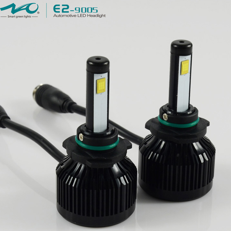 New HB3 Car LED Headlight 9005 33W 3500LM 12V Spot Bulb Filp Chip COB Source 6000K White/ 3000K Yellow Auto Head lamp Waterproof(China (Mainland))